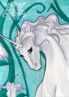 Nouveau Unicorn by Penny-Dragon