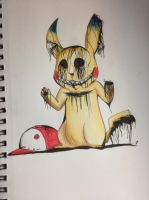 Lost Pikachu by NicktheEchidna
