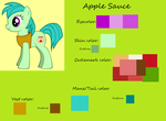 Apple Sauce Reference Sheet by AlexLion0511