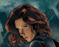 Black Widow Portrait by N-o-X-i-S18