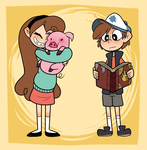 Mystery twins by DreamerMB