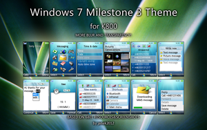 Windows 7 Milestone 3 Theme by janek2012
