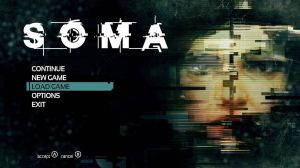Frictional Games - SOMA: temporary main menu. by SethNemo