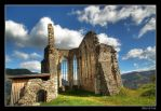 Church ruin in Friesach by RRVISTAS