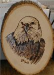Eagle Woodburning by HillBilly-Pepper