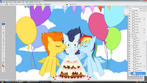 WIP - Soarin Birthday by tinuleaf