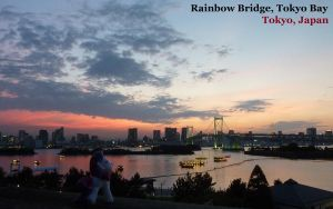Sunset over Tokyo by caliaponia