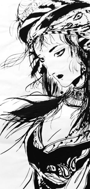 Amano ink by Marshmallow21