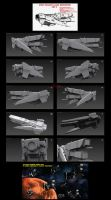 Contention: UNMC Paladin-class destroyer 3D by Malcontent1692