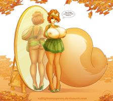Penny's Fall Lingerie Line by ZaftigBunnyPress