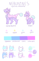 nebunine species ref 2.0 by Ieopards