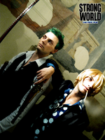 Sanji and Zoro - STRONG WORLD by drwarumono