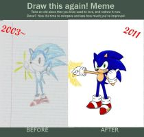 Draw this again Meme by Retro-Eternity