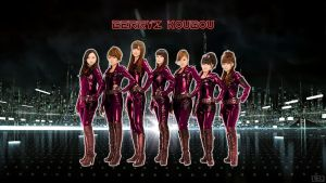 Berryz Tron by NEO-Musume