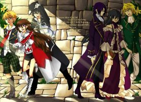 Pandora Hearts: Past and Now by scatteredsnow