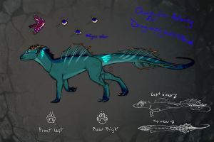 character desing for dragonfly by Novarock