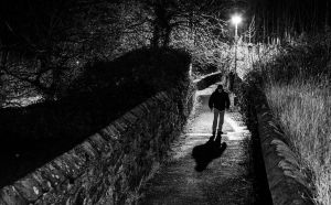 Shadowy Figure by BusterBrownBB
