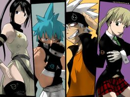 Soul Eater members by ChristianStrange3