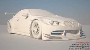 BMW M3 E92 by davidKatara