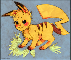 Pikachu by TotemEye