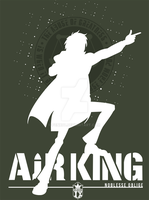 Air King t-shirt by Fenx07