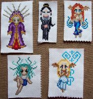 OC stitches part 2 - 2010 by nocturnaliss