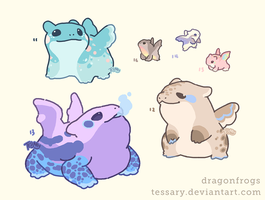 Dragonfrog Customs Set 1 by tessary