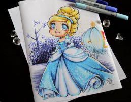 Chibi Cinderella by Lighane