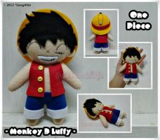 OnePiece... Monkey D. Luffy 02 by SongAhIn