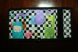 Painted Wallet by batongbato