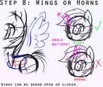 The eight steps to drawing ponies! 7/8 by masterchief80786