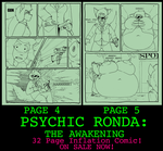 Psychic Ronda: The Awakening (Page 4 and 5) by CleverFoxMan