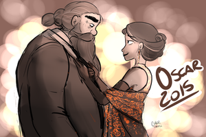Ready for the Academy night by chorchori