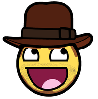 Indiana Jones Awesome Smiley by E-rap