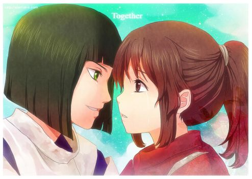 Spirited Away Together by Eternal-S