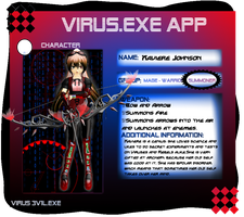 VIRUS3V1L Xaviere App sheet (Updated) by YourFaceLooksFunny