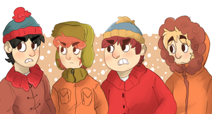 The gang by Mishamutt