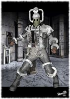 10th Planet Cyberman by Stone3D