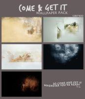 [PSD] Come And Get It Wallpaper Pack ~ by SammyYun