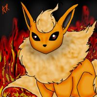 Flareon by squishy-jelly-apple