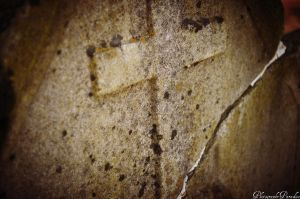 Cracked Cross by PhotographicCrypto