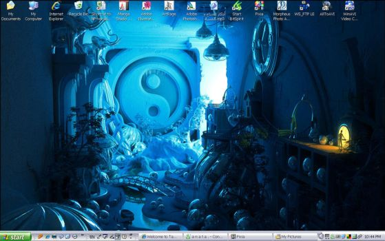 My Desktop by hotah
