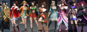 Dynasty-Samurai Warriors Favorites 2014 Edition by gaming123456