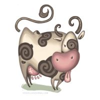 cow by viveer
