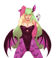 Morrigan by pizzastar