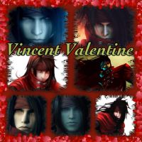 Vincent Valentine collage by Xendrak18