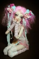 BJD doll Cotton Candy by Aidamaris Forgotten Heart by FHdolls