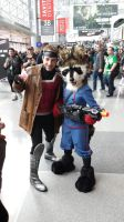 NYCC 2014 - Gambit and Rocket Raccoon Cosplay by DestinyDecade