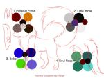 Halloween Masked Cheshire Wolf Color Pallete OPEN by CheshireMask