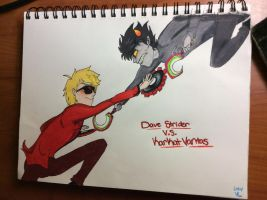 Strider VS Vantas by VostokLucini